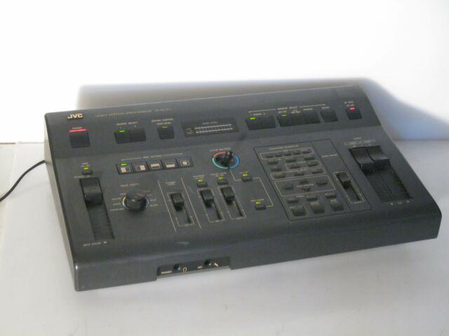 Mixer editing processor professionale jvc jx-sv 77