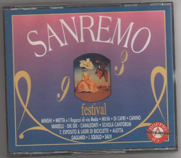 Sanremo festival 1993 box 2cd nuovo fonit tcd 1006
