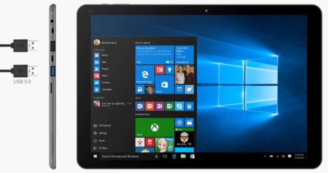 Tablet pc convertibile windows 10 android 4gb ram quad core