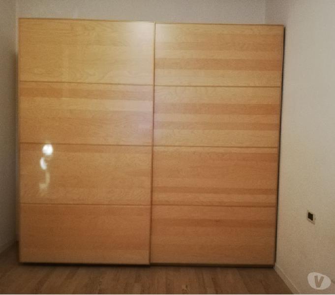Dispensa Ante Scorrevoli Ikea.Armadio Pax Offertes Maggio Clasf