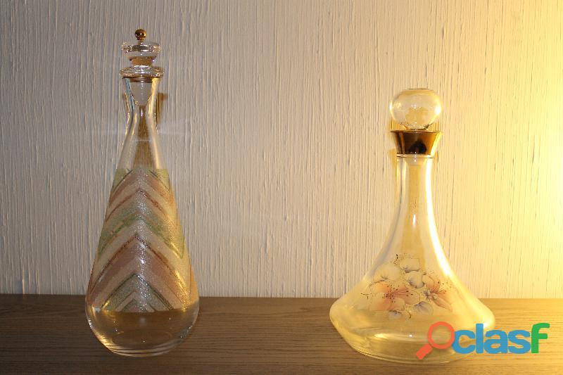 Bottiglie vintage da vino o liquore