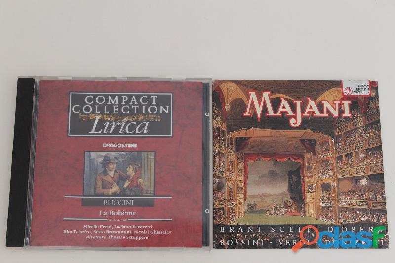 Musica lirica cd originali