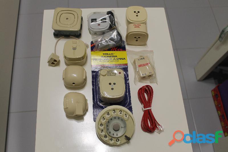 Ricambi materiale telefonico nuovo