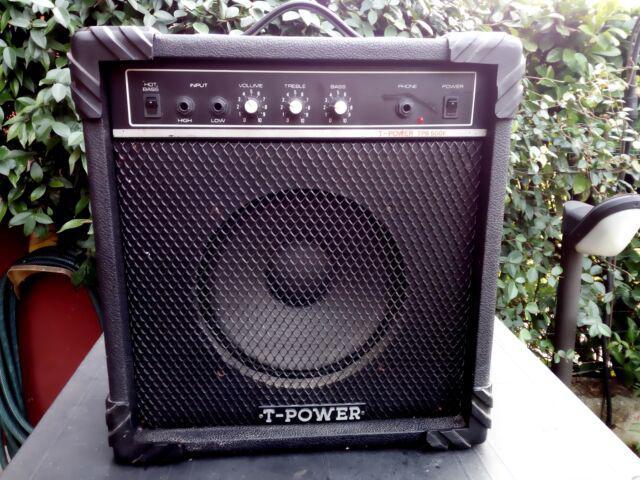 Amplificatore vintage t-power per chitarra