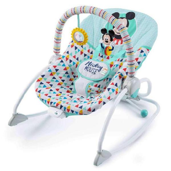 Disney baby sdraietta mickey mouse happy triangles lattanti