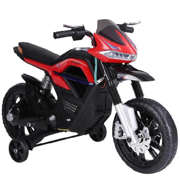 Moto elettrica per bambini 6v benzoni rossa