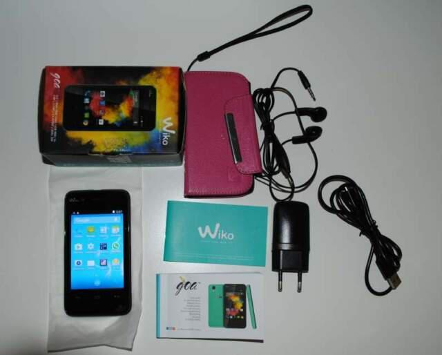 Smartphone wiko dual sim scatola originale, accessori e