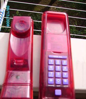 Vintage telefono fisso swatct montesilvano