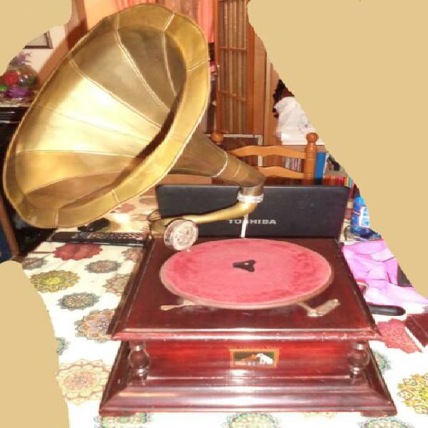 Grammofono his master's voice funzionante