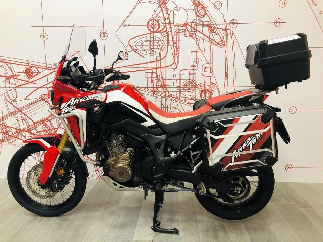 Honda crf1000l africa twin dct travel edition