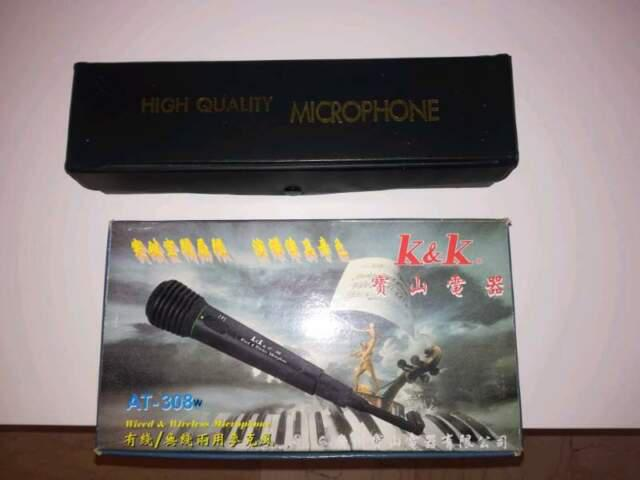 Microfono audision c-320/k & k at-308 w