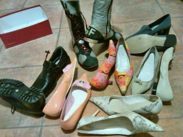 Scarpe donna stock