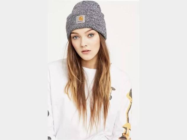Acrylic hat carhartt black/white unisex tagl