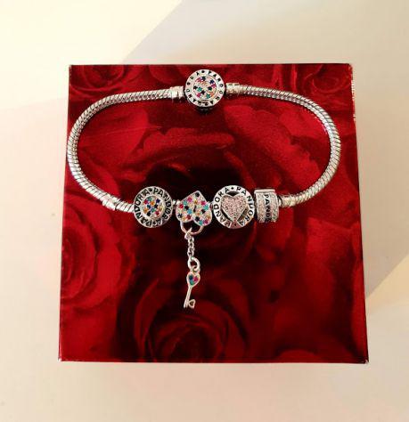 braccialetti pandora originali di argento