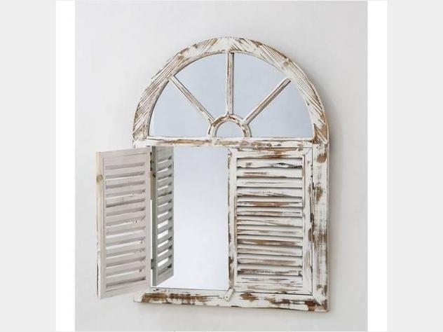 Specchio finestra shabby nuovo art. 42907