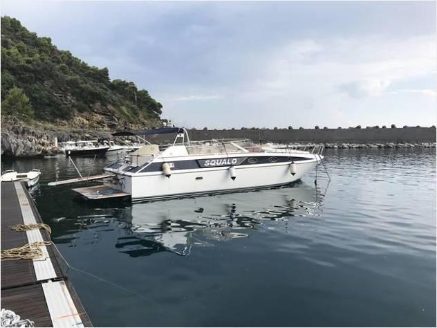 Barca a motore squalo 38h anno lunghezza mt