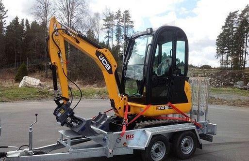 Jcb 8018 mini escavatore benetutti