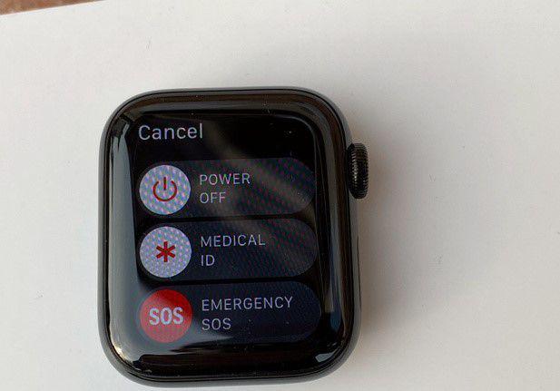 Apple watch series 4 gps cellular acciaio