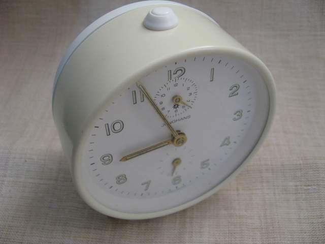 Orologio sveglia carica manuale junghans originale vintage