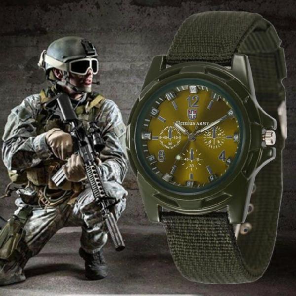Orologio military army nuovo con scatola