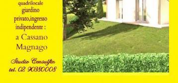 Trilocale con giardino…
