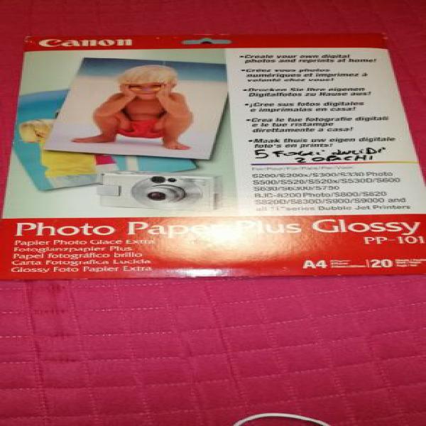 Carta fotografica canon a4 pp-101