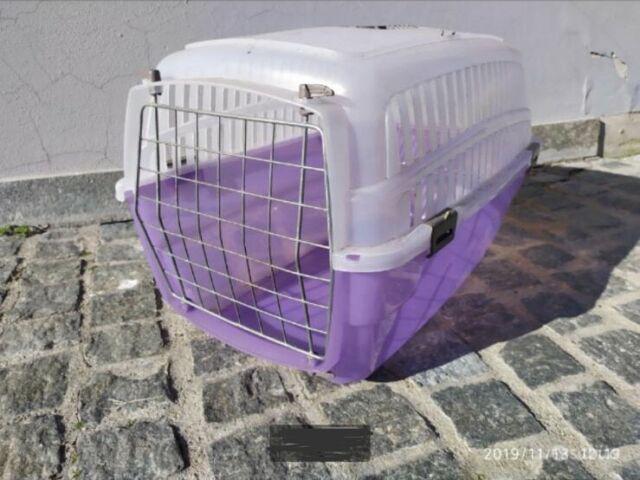 Trasportino cane/gatto 55x30