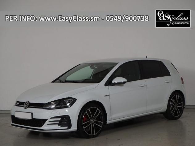 Volkswagen golf gtd 2.0 tdi sport&style dsg cockpit navi
