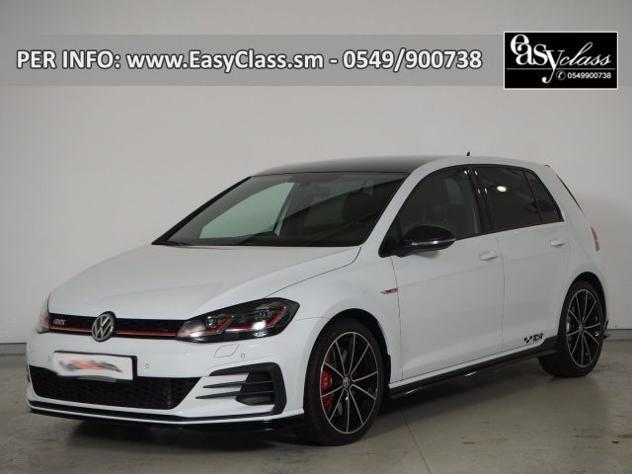 Volkswagen golf gti 2.0 tsi tcr dsg 5p. led navi cockpit acc
