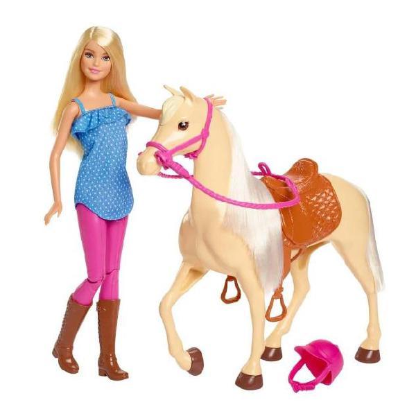 Barbie bambola e cavallo