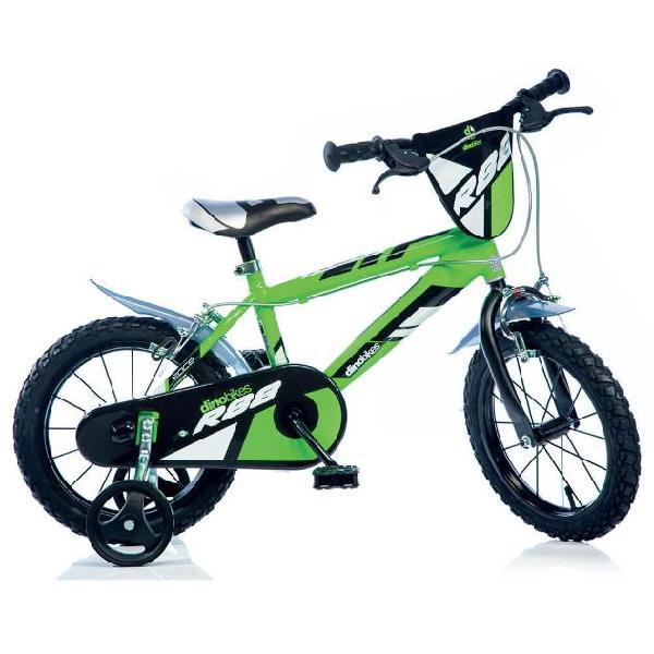 Bicicletta Per Bambino 16Â? Mtb 2 Freni 416u Dino Bikes