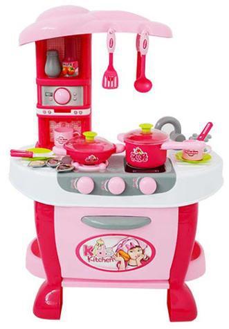 Cucina giocattolo per bambini 73x51x30 cm con utensili kids