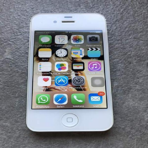 Iphone 4s bianco 16gb perfetto