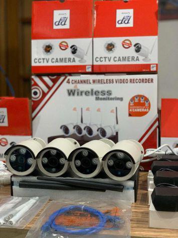 Kit 4 telecamere videosorveglianza