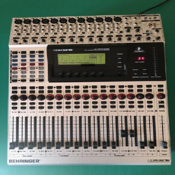 Mixer audio digitale behringer ddx3216