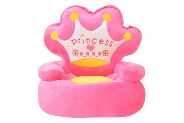 Poltroncina rosa princess