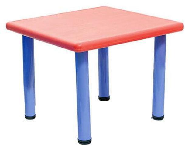 Tavolo quadrato per bambini 62x62x52 cm in plastica miller