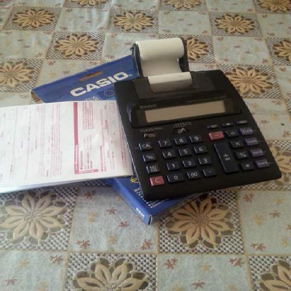 Vendo calcolatrice scontrini marca casio