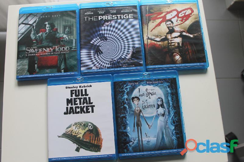 Blu ray e dvd originali nuovi mai usati