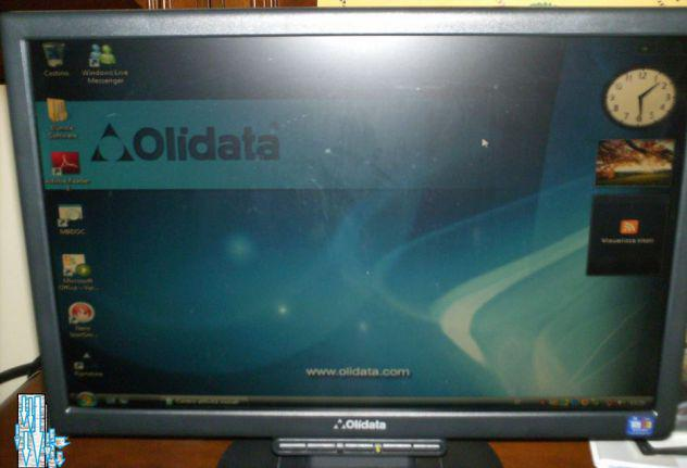 "Monitor schermo lcd 19"" tft color olidata"