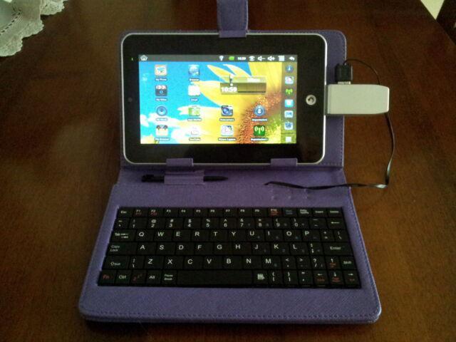 """Tablet 7"""" pc portatile wi-fi + giochi (nuovo)"""