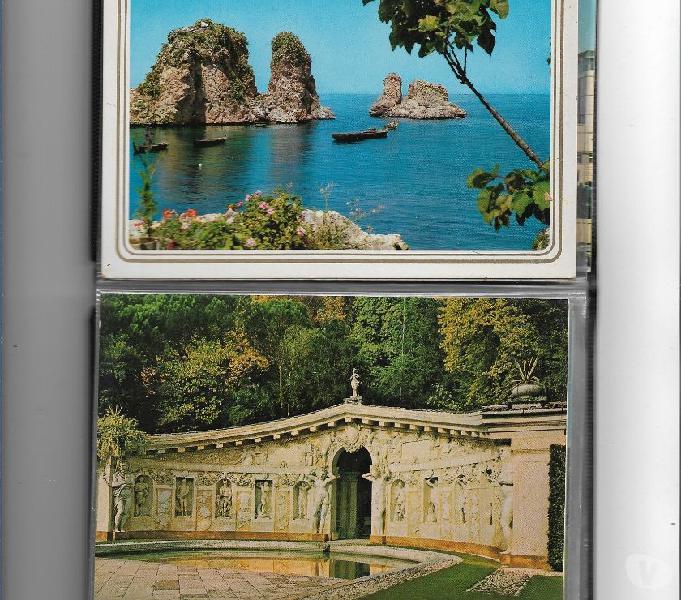 Anni 5080 italia n 100 cartoline illustrate sottodescritte