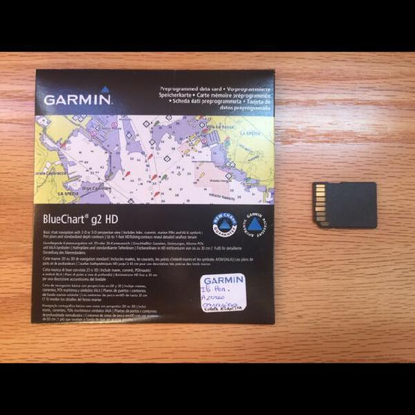 Carte nautiche garmin bluechart g2 hd atlantico e