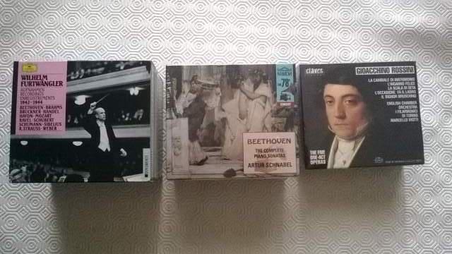 Cofanetti cd(originali) musica classica i