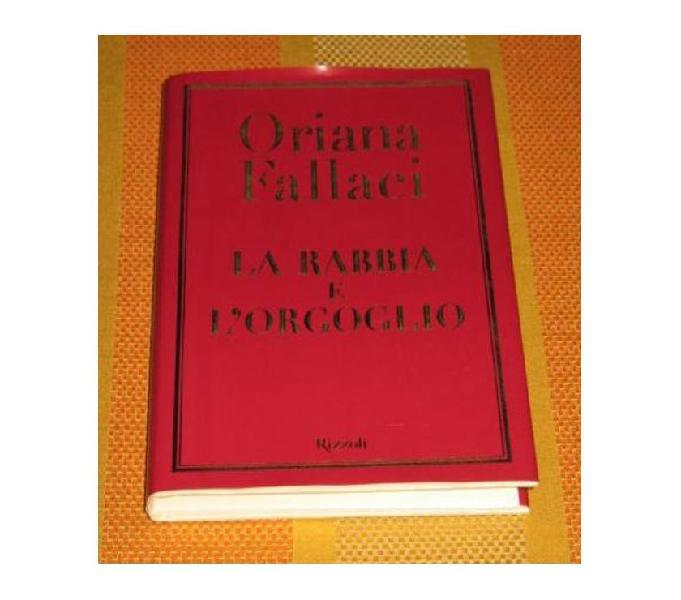 Fallaci oriana libro rizzoli originale 2001
