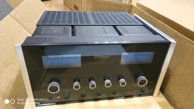 Mcintosh ma-2275 amplificatore integrato valvolare kt88 tube