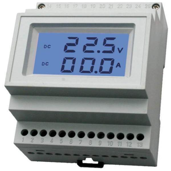 Voltometro amperometro digitale due in 1 dc 0-199.9 v. 99.9