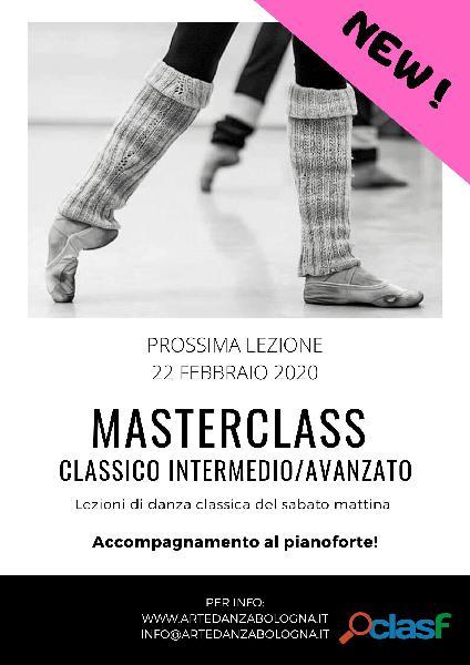 Sab 22 feb | masterclass classico intermedio/avanzato