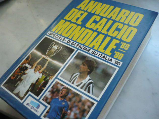 Annuario del calcio mondiale 1989-90, 960 pagine, copertine