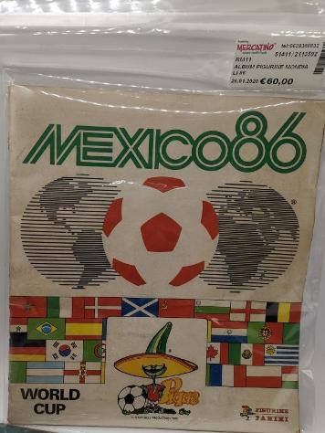 Album figurine mondiali 86